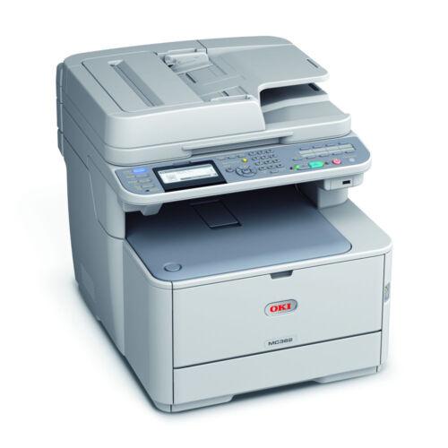 1 von 1 - OKI MC362dn Farblaser-Multifunktionsgerät A4 4-in-1 Drucker Kopierer Scanner