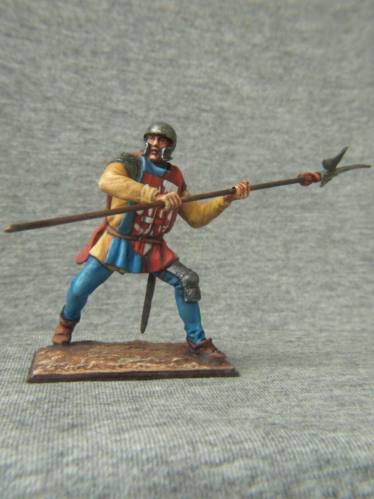 Vendido ¡Vendido - Sí.El mejor soldado de estaño  el ejército francés del siglo XIV.