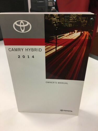 2014 Toyota Camry Hybrid Owners Manual