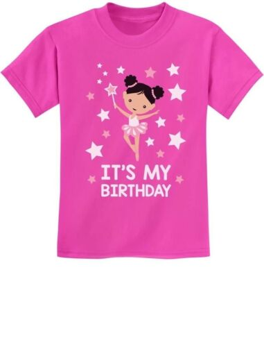 It/'s My Birthday Birthday Gift for little Girls Youth Kids T-Shirt Present