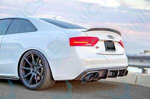 Audi-A5-S5-S-Line-Diffuser-Diffusor-Undertray-Sportback-Rear-RS5-Fiber-glass