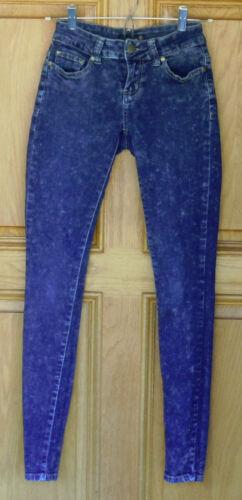 Skinny Distressed Blue 0 Jeans Size Mindcode Ladies wWn7SqPIxP