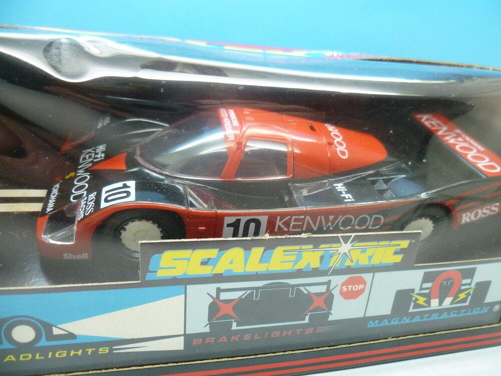 Noël, envoie de de de la joie Scalextric C486 Porsche 962 Kenwood, Comme neuf Inutilisé f6c4ff