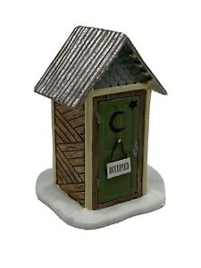 Dept-56-Accessories-WOODLAND-OUTHOUSE-Polyresin-Village-Bathroom-4047581