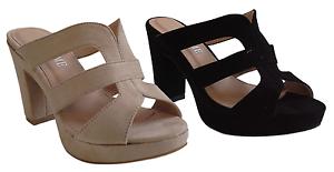Scarpe Donna, Camoscio sandali con tacco. Scalzato. Camoscio Donna, sintetico. FOX.ME 9197. 41d785
