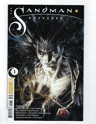 SANDMAN UNIVERSE #1 THOMPSON VARIANT DC 2018 1st Print COMIC