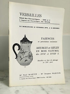 Catalogue Di Vendita Versailles Terracotta Mobili E Sedili 1979