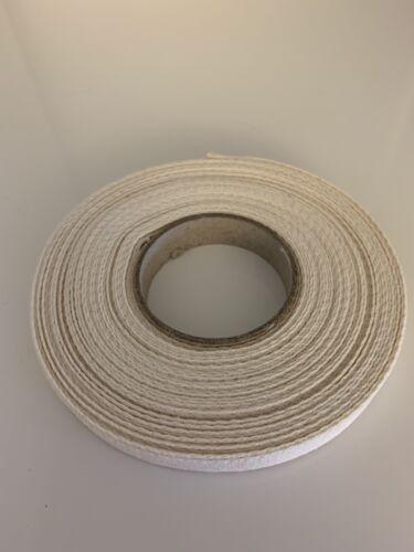 rohweiss en 10 mm de ancho. 10 metros de costura köperband banda algodón encerado
