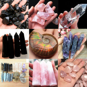 Xmas-Pink-white-purple-black-Natural-Quartz-Crystal-Carved-Palm-Healing-Gemstone