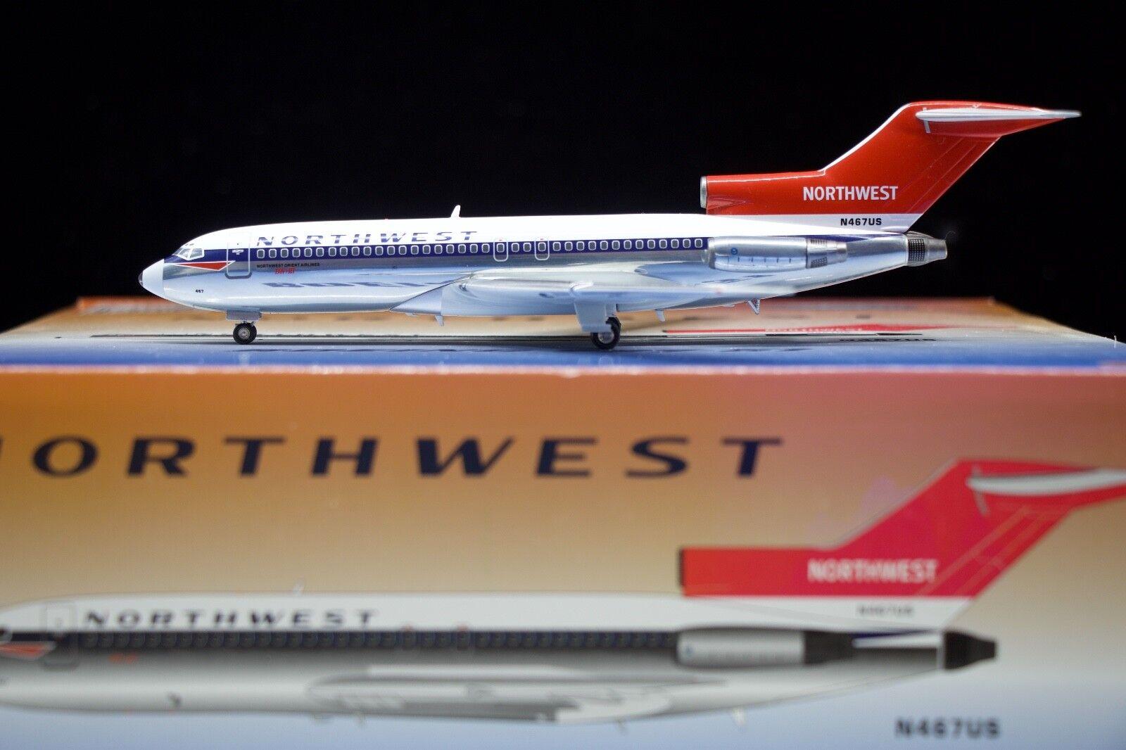 Inflight200 Northwest Airlines 727-100 N467US N467US N467US b5028e