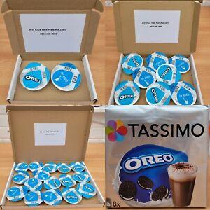 Tassimo Oreo Hot Chocolate T Discs Pods Gift Box - Present Personalised