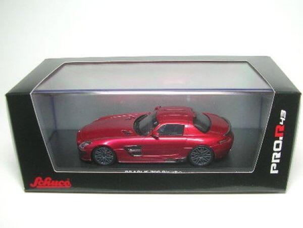 Brabus 700 biturbo SLS (rojo)