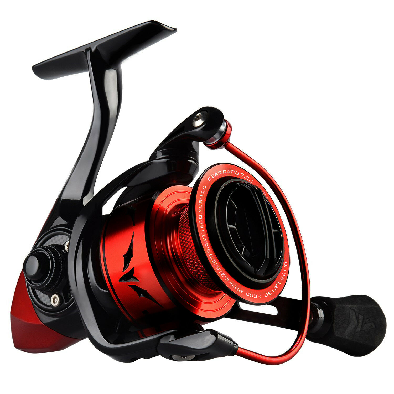 KastKing Speed Demon Spinning Reel Blazing Fast 7.2 1 Gear Ratio Fishing Reels