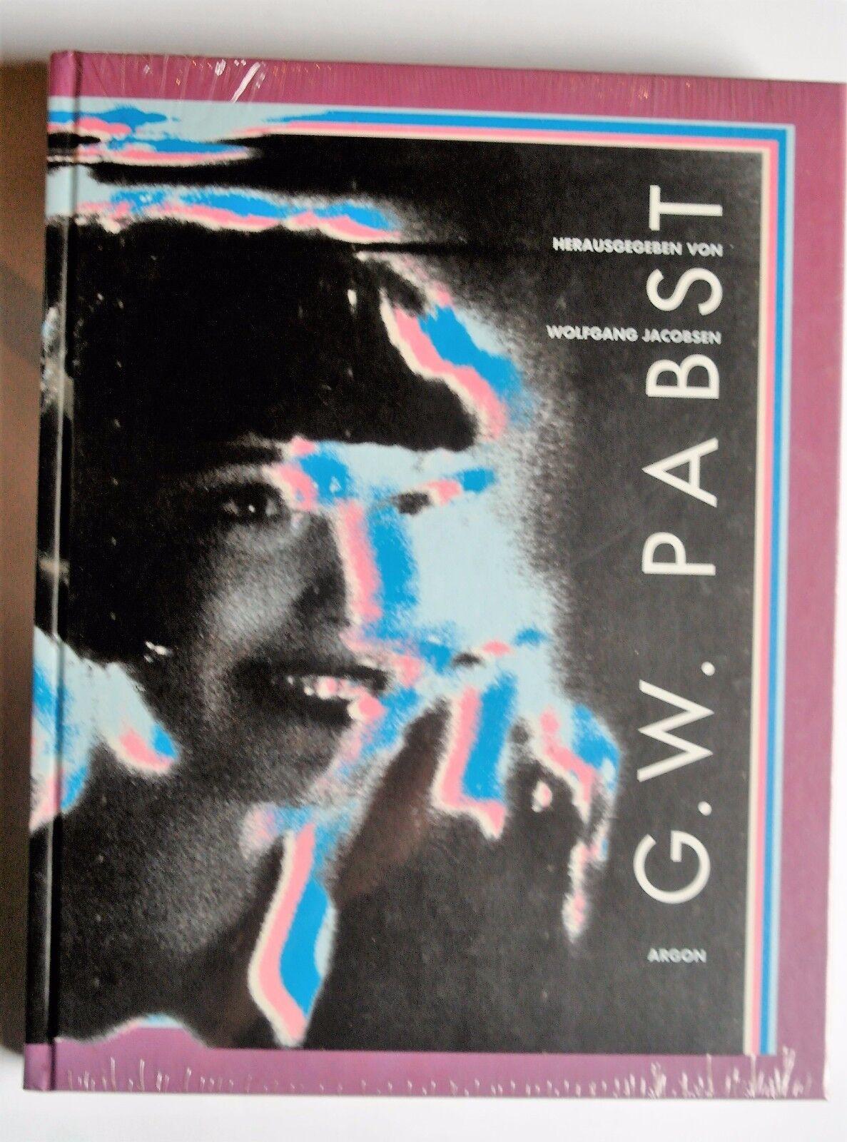 R3G026 G. W. Pabst - Gebundene Ausgabe 1997 von Wolfgang Jacobsen  OVP - Wolfgang Jacobsen