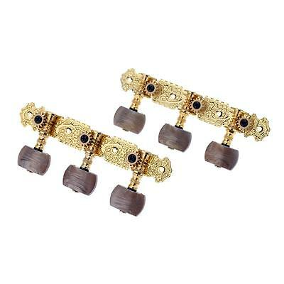 New Alice Pair of 3 Machine Head Classical Guitar String Tuning Keys Pegs N3N7