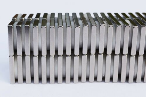 50 or 100 SQUARE MAGNETS 10mm x 10mm x 3 STRONGEST N38 Rare Earth Neodymium 56
