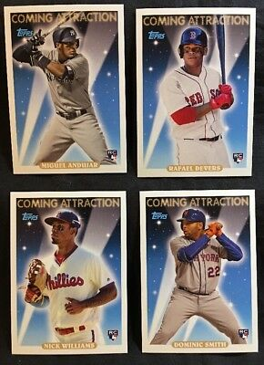 2018 Topps Archives Baseball Rookie Cards RC Lot You Pick