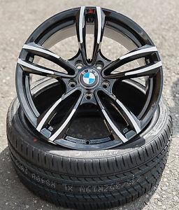 19 Zoll Wh29 Alu Felgen für BMW 5er F10 F11 M Performance 4er F32 F33 F36 X1 X3