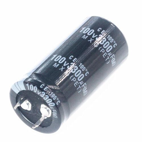 100V Electrolytic Capacitor 100 150 220 330 470 680 1000 2200 3300 4700 uF MFD
