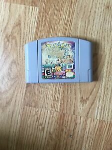 Pokemon-Puzzle-League-Nintendo-64-N64-Game-Cart-Tested-Works-NG1