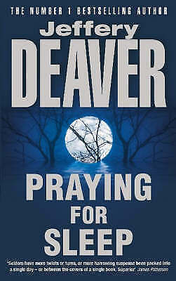 """AS NEW"" Praying for Sleep, Deaver, Jeffery, Book"