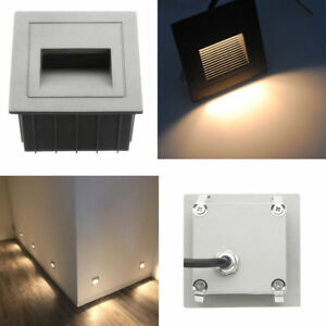 Gray 85 265v 2w led corner lights outdoor stair step hall lamp wall gray 85 265v 2w led corner lights outdoor stair step hall lamp wall plinth lamp aloadofball Gallery