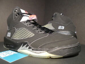 wholesale dealer 919bd b05d4 Details about 2006 NIKE AIR JORDAN V 5 RETRO BLACK METALLIC SILVER FIRE RED  WHITE 136027-004 8