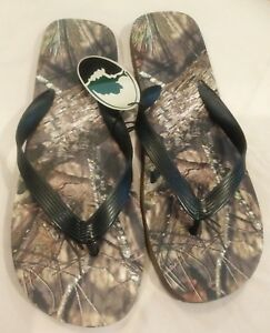 Men's Mossy Oak Camouflage Sandals Size Medium NWT