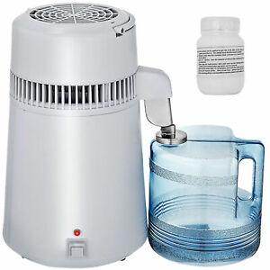 VEVOR 4L Pure Water Distiller 750W Countertop Purifier Stainless Steel Interior