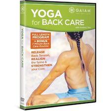 Yoga for Back Care (DVD, 2008)