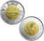 2019-Canada-Dday-75th-anniversary-1944-2019-2-NON-COLOURED-Toonie-from-roll miniature 2