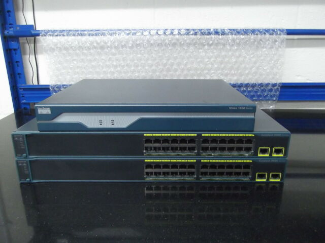 Cisco Ccna Lab Kit Démarrage 1 X Cisco 1841 + 2 X WS-C2960-24TT-L Tout Ios 15