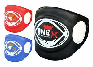 Belly-Protector-Body-Pad-Armour-Guard-Chest-MMA-UFC-BOXING-PAD-Black-RED-Blue