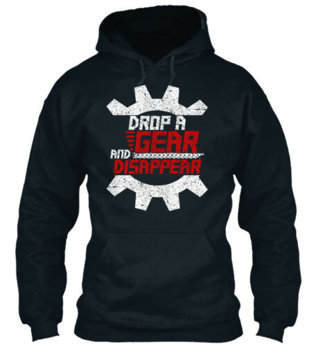 Stylish Drop A Gear And Disappear Standard College Standard College Hoodie