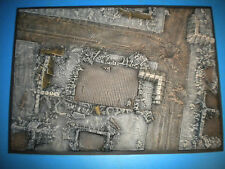 "Airfix Type 1/72 1/76 WWII Battlefield ""BATTLEFRONT #2"" Diorama Base Only"