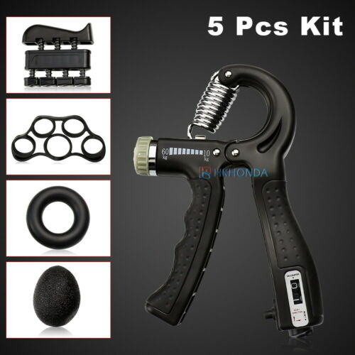 Multifunction Hand Grip Kit Wrist Strengthener Forearm Grip Home Band Workout