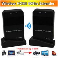 Wireless 1080p Hdmi Tv Video Deliver 60ghz Transmitter&receiver Extender System