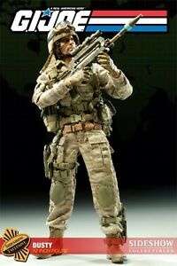 Sideshow G.i. Joe Dusty Exclusive Cobra Desert Trooper à l'échelle 1/6