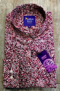 New Liberty Print Bird /& Fruit Womens Shirt LIMITED EDITION By Saffron Finch.