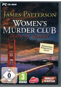 Womens Murder Club Death in Scarlet James Patterson Wimmelbild Spiel - Dürnberg, Deutschland - Womens Murder Club Death in Scarlet James Patterson Wimmelbild Spiel - Dürnberg, Deutschland