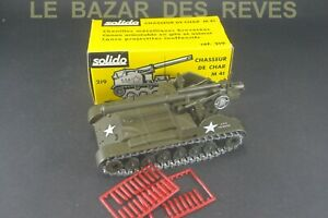 SOLIDO FRANCE. Tank chasseur de char M 41.  REF: 219. + Boite.