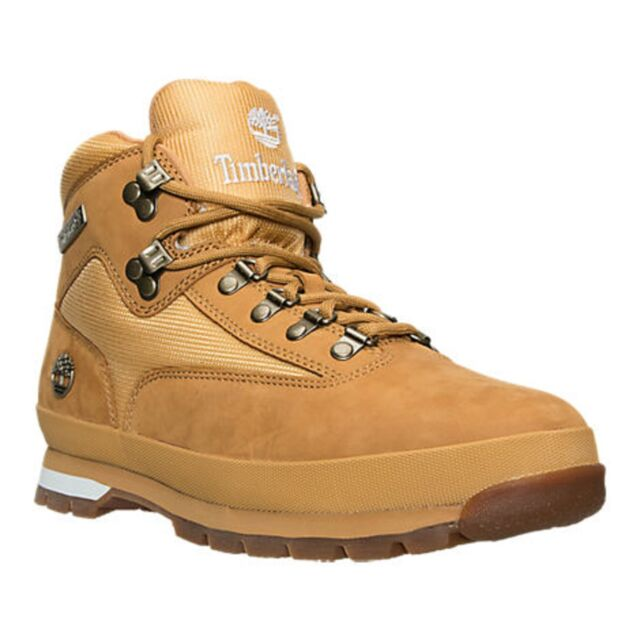 d5c4dd3305 TIMBERLAND TB091566231 EURO HIKER Mn's (M) Wheat/Nubuck Leather Hiking Boots