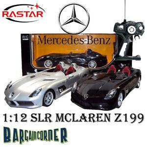 SL-MODEL-CAR-DIECAST-MERCEDES-BENZ-SLR-MCLAREN-Z199-1-12-LICENSED-REMOTE-CONTROL