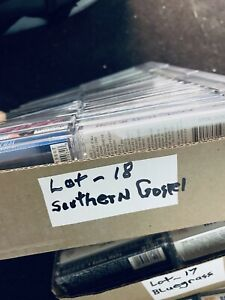 50 CT Cassette Lot Southern Gospel Lot# 18 New Sealed Cassettes
