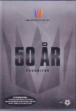 DVD Melodifestivalen 50 Jahre ar år, Favoriter, Eurovision Schweden Sweden