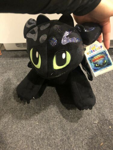 HTTYD Build-a-Bear NEW Special Edition Glow//Bioluminescent Toothless