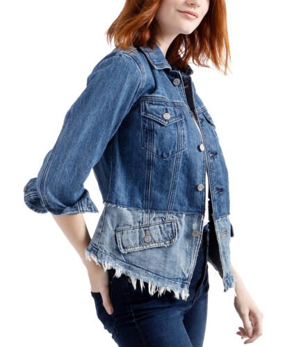 Lucky BrandWaisted Trucker Denim JacketBlue