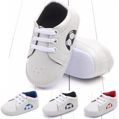 Toddler Baby Boy Girl Soft Sole Crib Shoes Newborn Sneakers Anti-slip Prewalkers