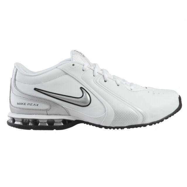 615e7c287c0663 Nike Reax TR III SL Mens 333765-101 White Silver Cross Training Shoes Size  13