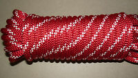 1/2 X 80' Kernmantle Static Line, Climbing Rope